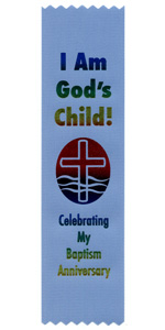 I am God's Child Celebrating my Baptism Anniversary
