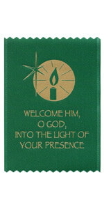 Welcome Him, O God, Into the Light of Your Presence