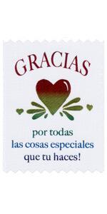 Gracias por todas las cosas especiales que tu haces!