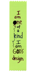 I am one of a kind I am God's design