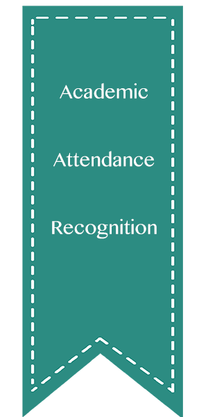 Academic, Attendance, Recognition